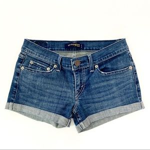 Levi's 524 Superlow Rolled Cuff Jean Shorts 3M JR